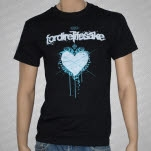 Fordirelifesake Heart Black T-Shirt