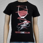 Forever Came Calling Glass Figure Black T-Shirt