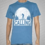Forever Came Calling Hunter Denim Blue T-Shirt