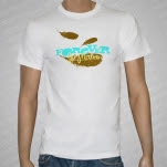 Forever In Motion Feathers White T-Shirt