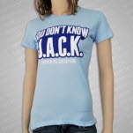 Forever The Sickest Kids JACK Light Blue Girls T-Shirt