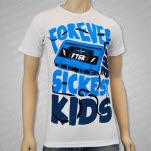 Forever The Sickest Kids Mix Tape White T-Shirt