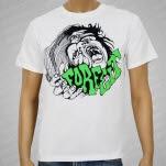 Forfeit Logo In Hand White T-Shirt
