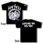 Forfeit Underdog Black T-Shirt