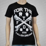 For The Fallen Dreams Bones Black T-Shirt
