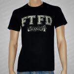 For The Fallen Dreams Changes Black T-Shirt