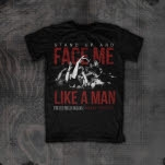 For The Fallen Dreams Stand Up Black T-Shirt