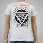 For The Fallen Dreams Symbol White T-Shirt