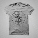 For The Foxes Broadcast Heather Grey T-Shirt