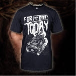 For Today Born To Die Blue T-Shirt