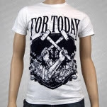 For Today Hammers White T-Shirt