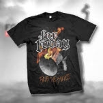 For Today Megaphone Black T-Shirt