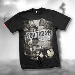 For Today Newspaper Black T-Shirt