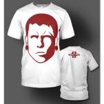 Forty Four Bozeman Red Print White T-Shirt