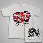 official Frank Turner Kids White T-Shirt