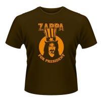 Frank Zappa Zappa For President Brown T-Shirt