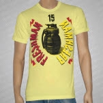 Freshman 15 Grenade Yellow T-Shirt