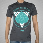 From Atlantis Aztec Charcoal T-Shirt