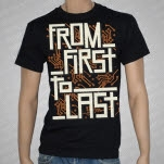 From First To Last Electronics Black T-Shirt