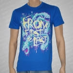 From First To Last Worms Blue T-Shirt