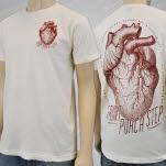 Front Porch Step Heart Natural T-Shirt