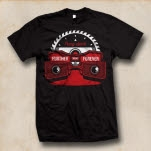 Further Seems Forever Viewmaster Black T-Shirt