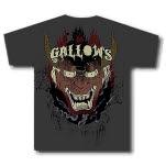 Gallows Devil Gray T-Shirt