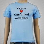 Garfunkel  Oates I Love Garfunkel And Oates Blue T-Shirt