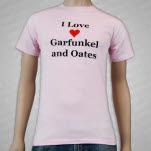 Garfunkel  Oates I Love Garfunkel And Oates Pink T-Shirt