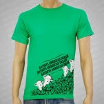Gatsbys American Dream Cow T-Shirt