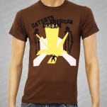 Gatsbys American Dream Robot Brown T-Shirt