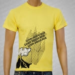 Gatsbys American Dream Volcano Yellow T-Shirt