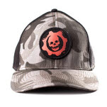 Gears Of War Black Camo Ripstop Flex Cap