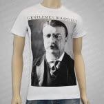 Gentlemen Roosevelt Roosevelt White T-Shirt