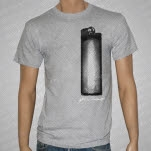 Ghost Thrower Lighter Heather Gray T-Shirt