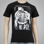 Ghost Thrower Pumpkin Black T-Shirt