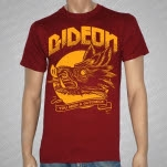 Gideon Boar Head Maroon T-Shirt