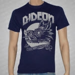 Gideon Boar Head Navy T-Shirt