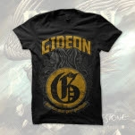 Gideon Goodbyes Black T-Shirt