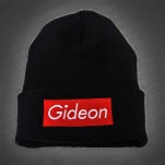 Gideon Logo Black Winter Beanie