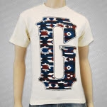 Gideon Native G Cream T-Shirt