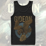 Gideon Panther Black Tank Top
