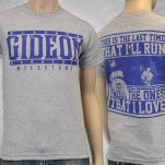 Gideon This Is The Last Time Heather Grey T-Shirt