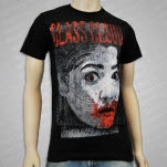 Glass Cloud Face Black T-Shirt