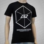 Going Quantum Hexagon Black T-Shirt