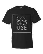 GOLDHOUSE Back to Life Logo Black T-Shirt