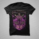 GOLDHOUSE Cat Black T-Shirt