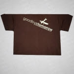 Goodbye Tomorrow Plane T-Shirt