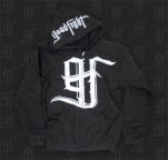 Good Fight Entertainment Logo Black Hoodie Zip