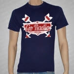 Go Radio Arrows Navy T-Shirt